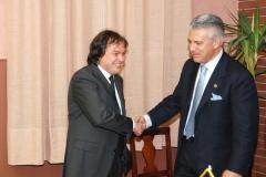 Visita del Governatore Giancarlo Tagliaferri