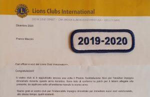 Al Lions Vescovato il Premio Soddisfazione Soci